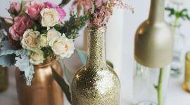 Enfeite de mesa com garrafa: veja belas ideias para decorar a mesa