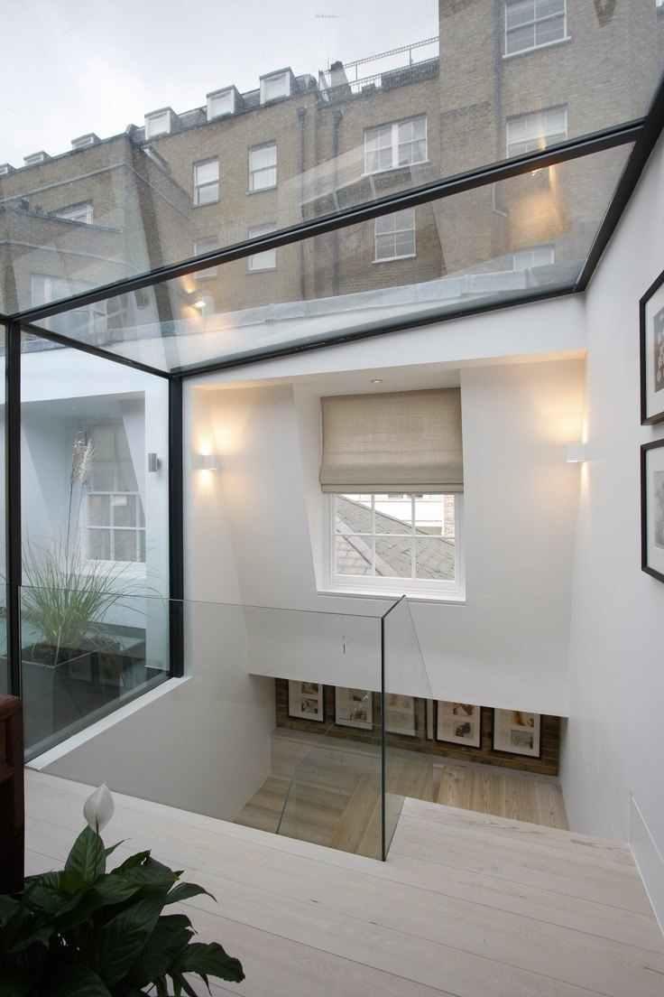 Os painéis podem contornar as superfícies deixando o ambiente muito mais iluminado