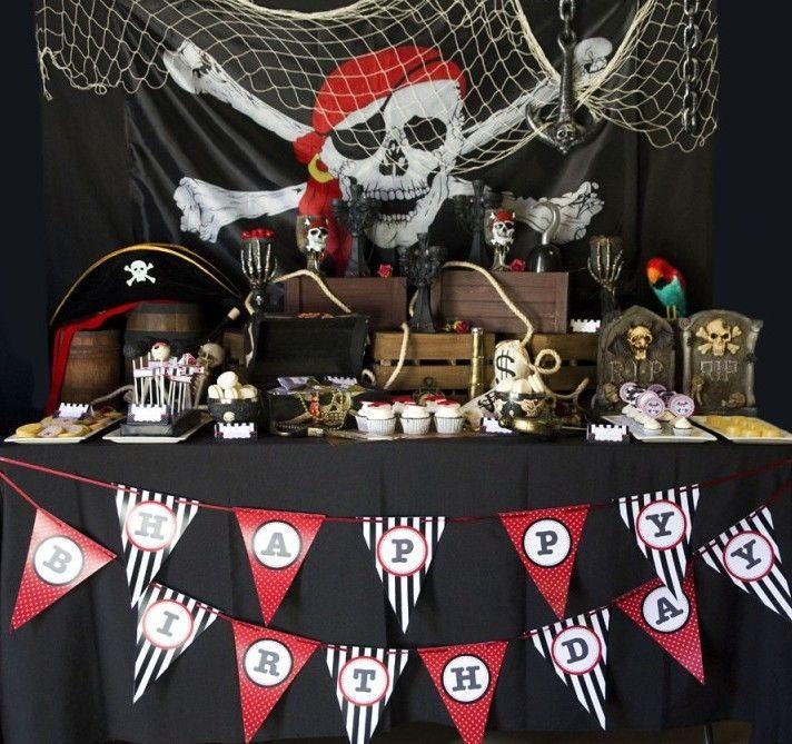 Festa pirata: 60 ideias de decoração e fotos do tema
