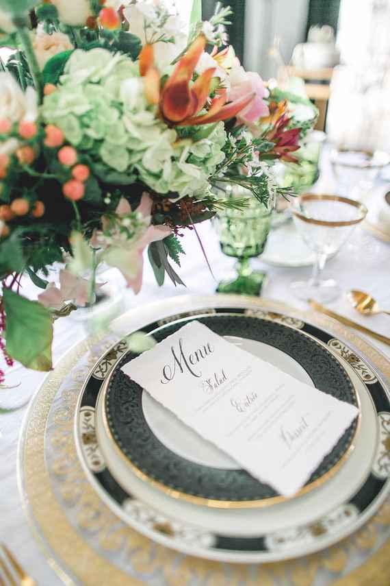 Casamento preto e dourado: sofisticação no limite!