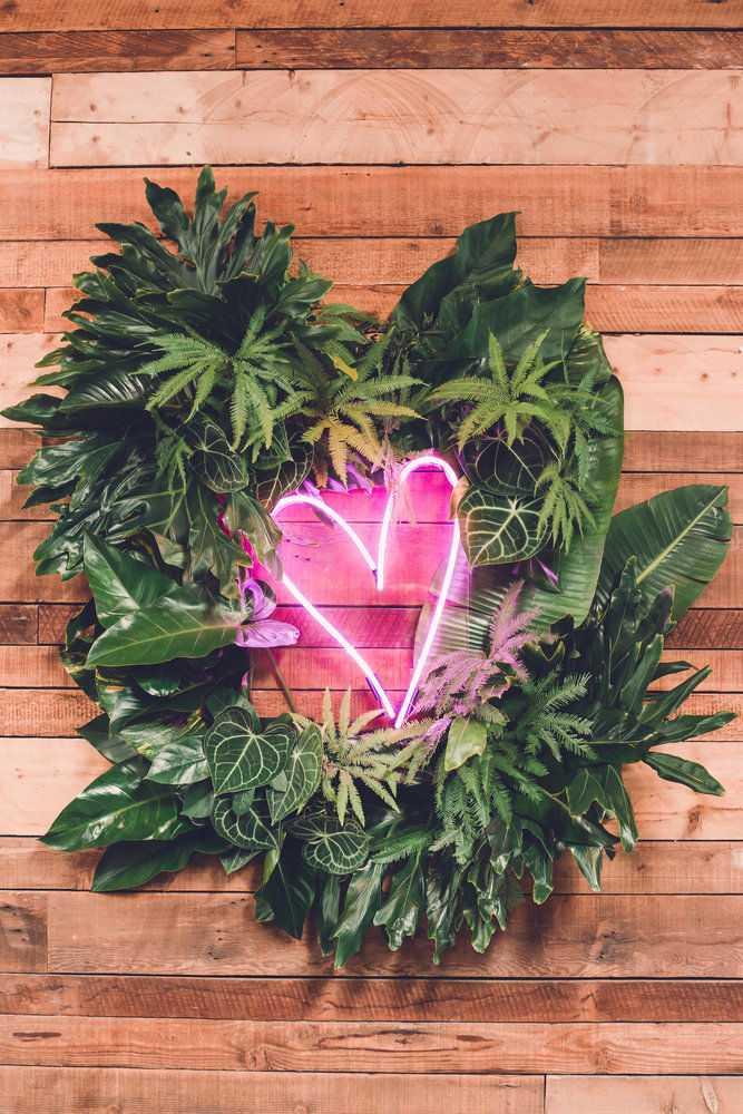 Declare seu amor ao neon