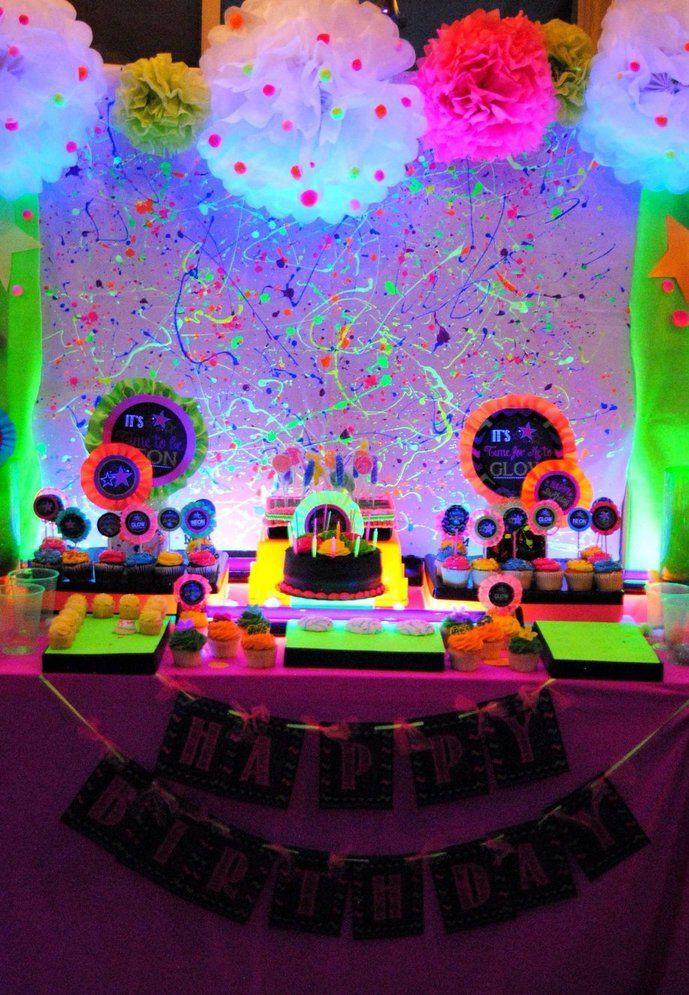 Festa neon coloridinho