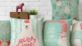 Almofadas de Natal: 60 Ideias de decoração e como fazer