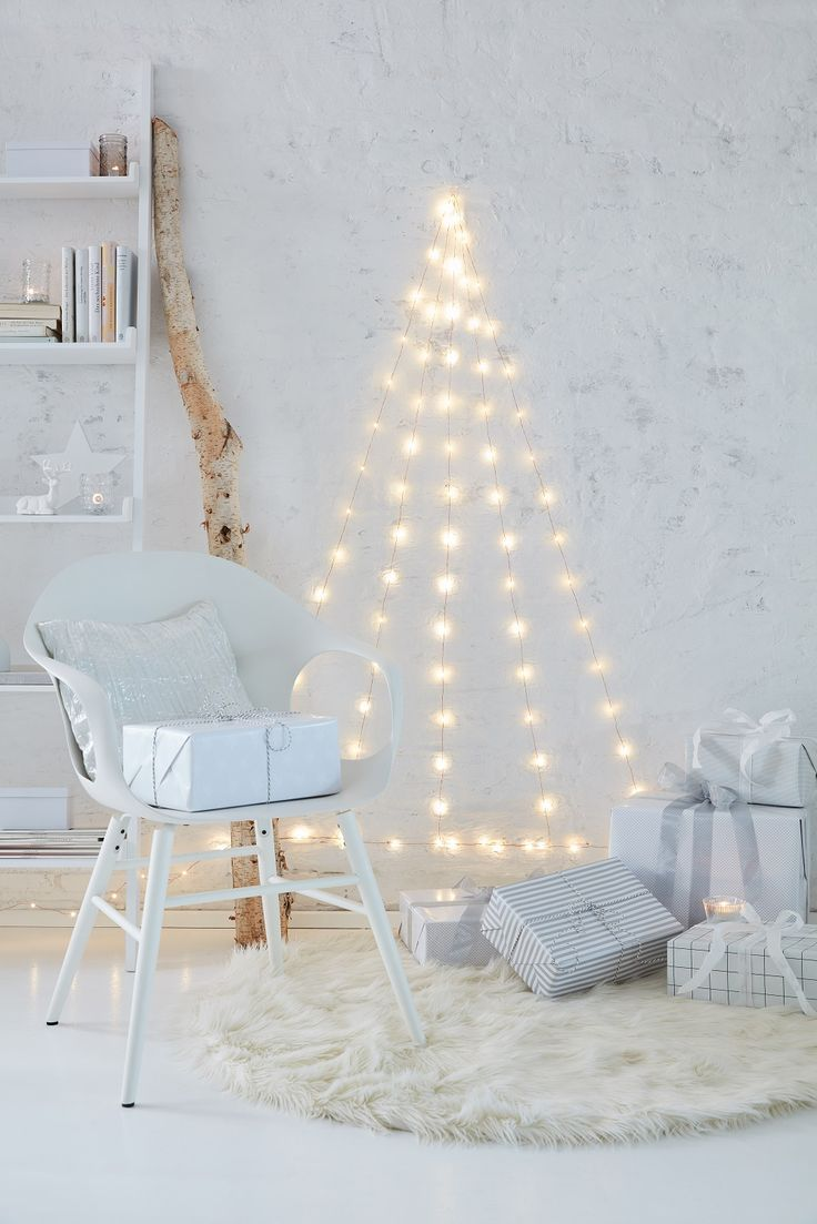 Resultado de imagem para 10 jeitos de aproveitar as luzinhas de Natal na decoração