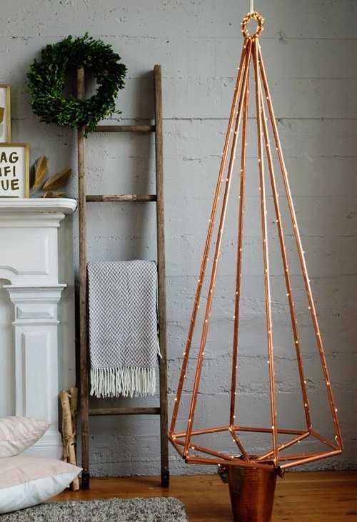 Escolha uma decoração cool para o Natal