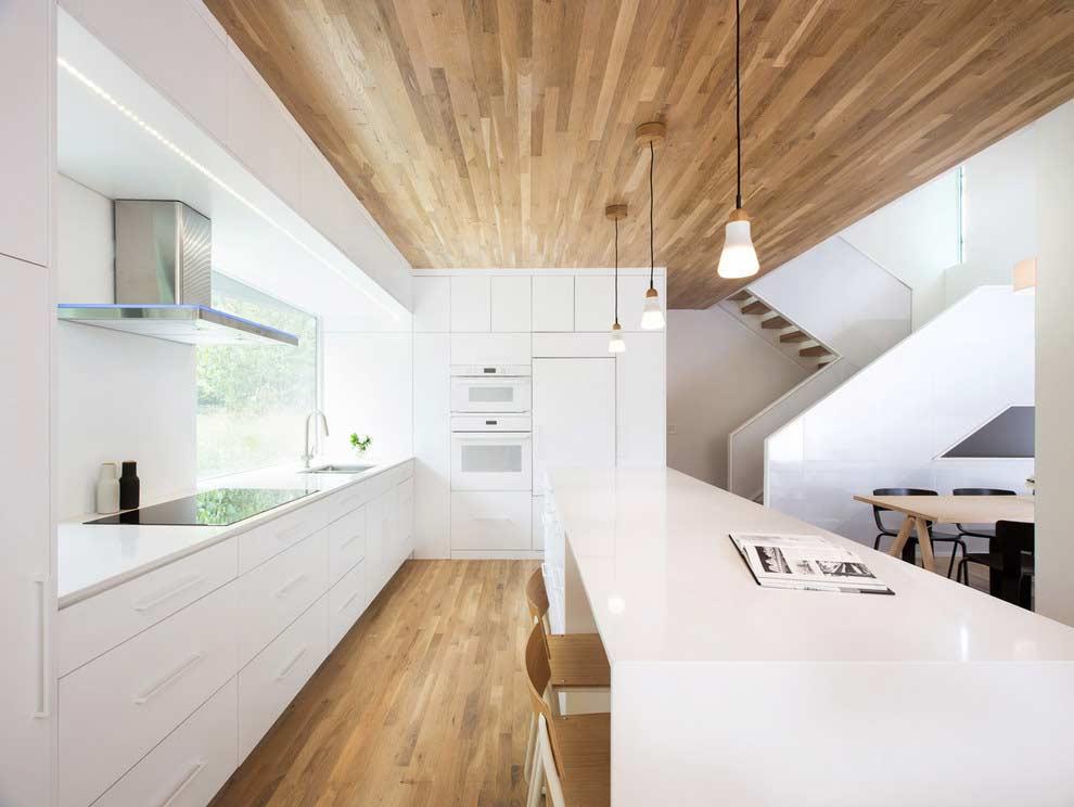 Projeto limpo e clean de cozinha