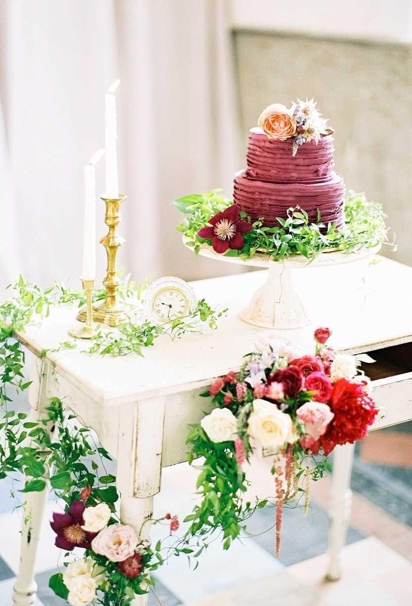 Ruffle cake para noivado