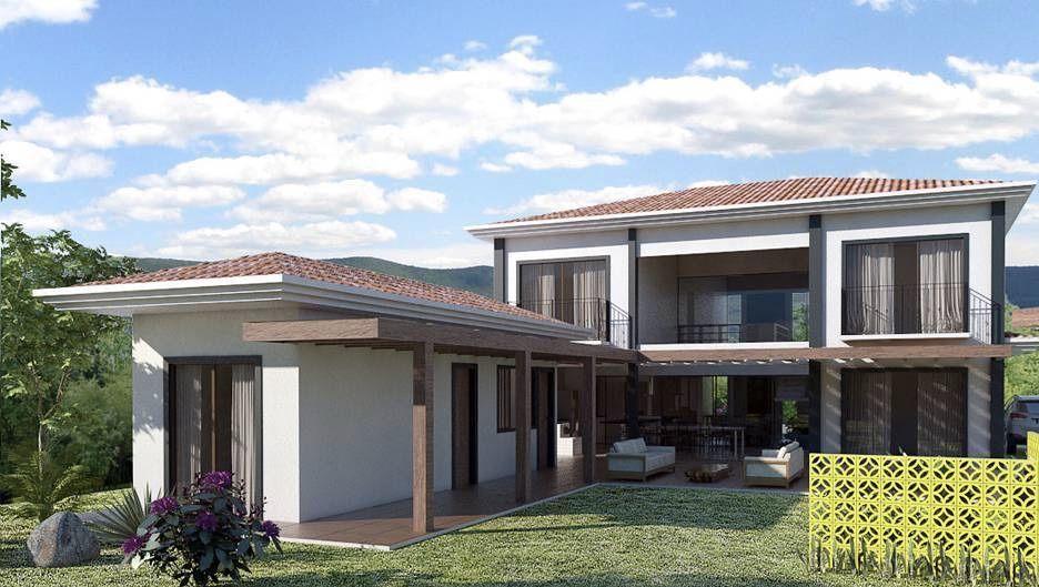 Casa moderna no estilo colonial