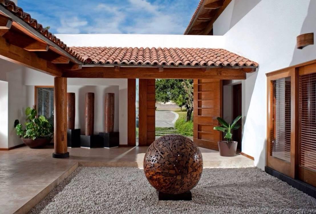 Casas coloniais 60 ideias de projetos com fotos perfeitas for Modelos de patios de casas pequenas