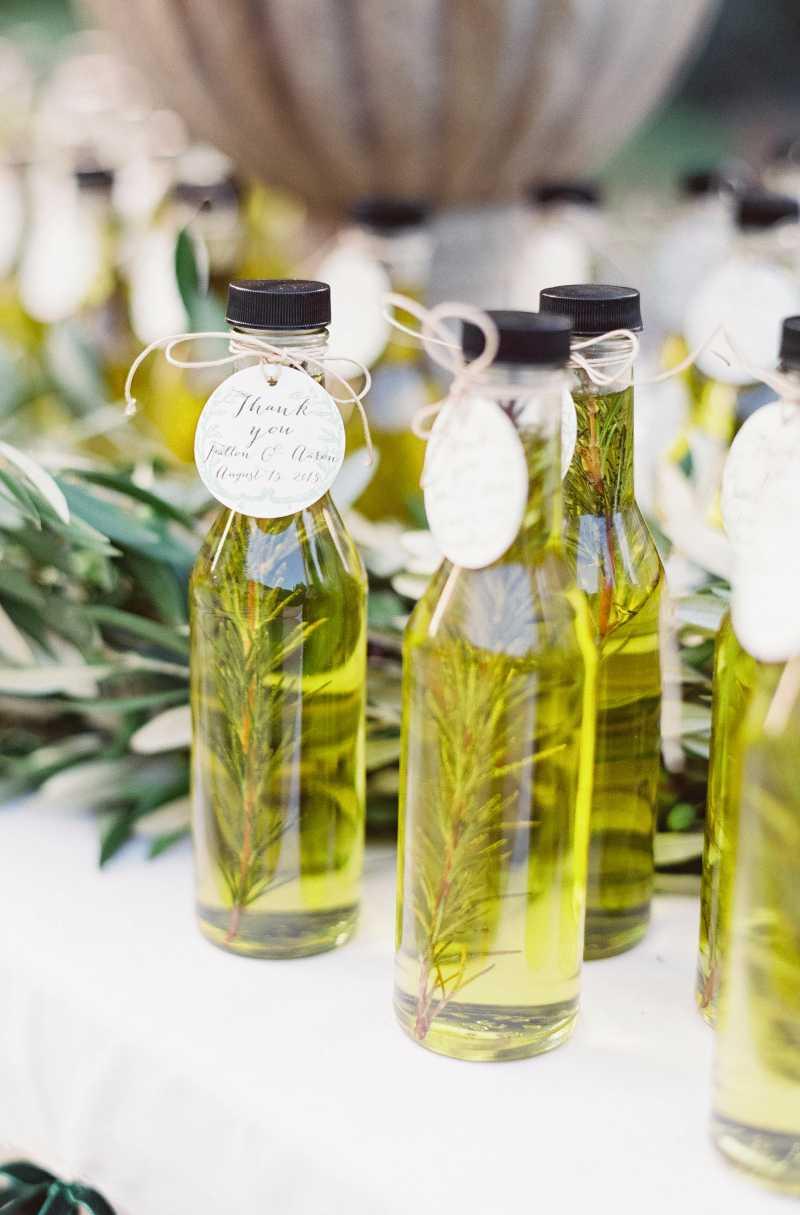 Surpreenda: azeites aromáticos para lembrancinha