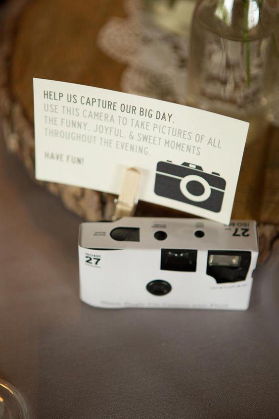 Cameras descartáveis para registrar mais momentos