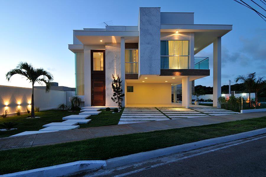 Modelo de casa grande brasileira