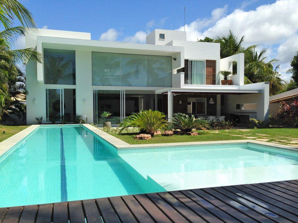 Casas grandes 54 projetos fotos e plantas para se inspirar - Casas super pequenas ...