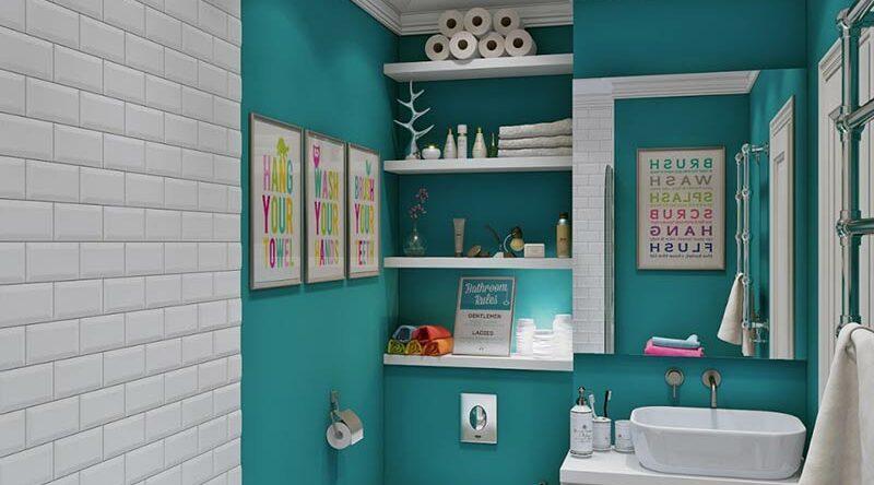 Azul turquesa: 60 ideias e fotos de decoração com a cor