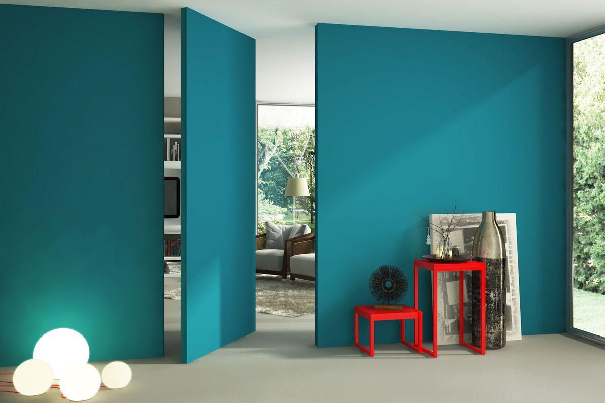 Use a cor para destacar uma parede