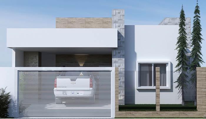 Acabamentos diferenciados em detalhes da construção
