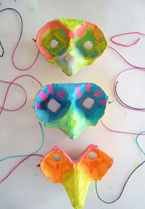 Máscaras de carnaval ou Halloween