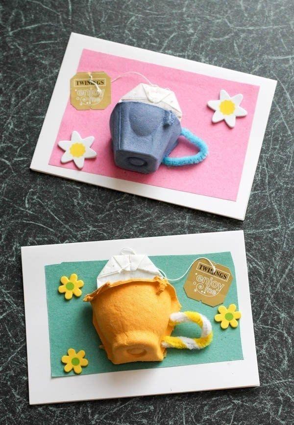 Quadrinhos de chá para decorar a casa