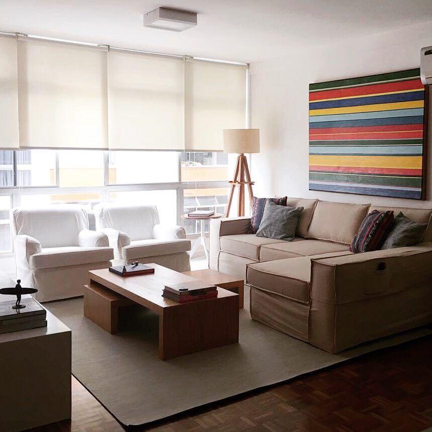Sala simples 60 ideias para a decora o mais bonita e barata for Figuras en draibol para sala