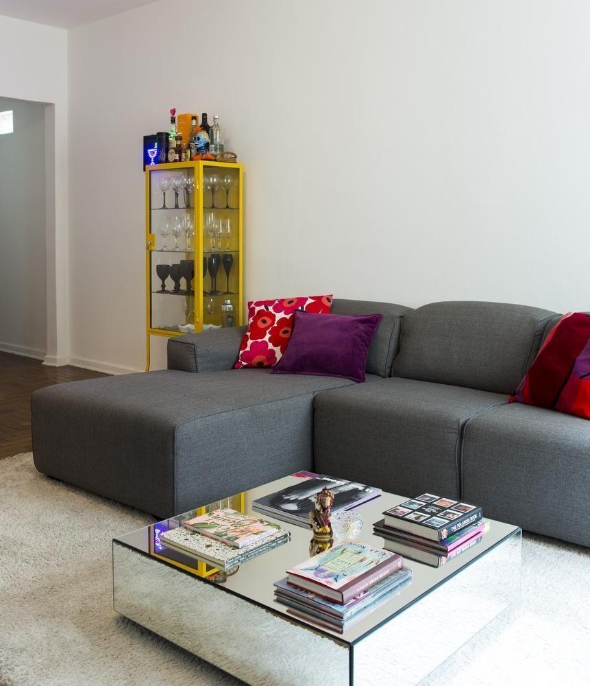 Layout simples para uma sala bem confortável