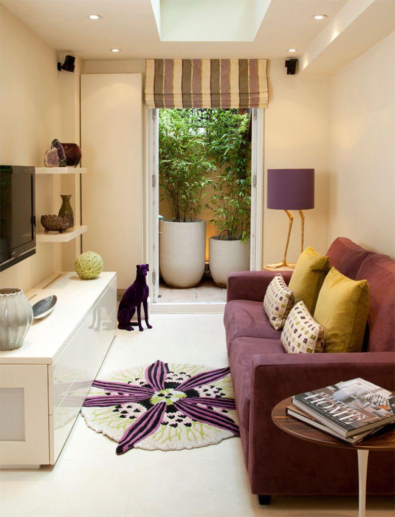 Sala Simples 60 Ideias Para A Decora O Mais Bonita E Barata -> Acabamento Sala Pequena