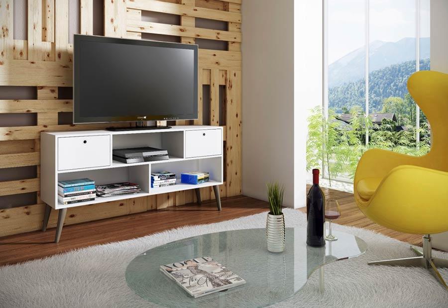 Painel tradicional para a parede da TV