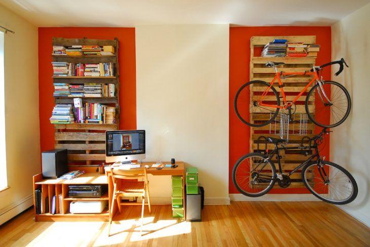 Uma forma criativa para fixar as bicicletas