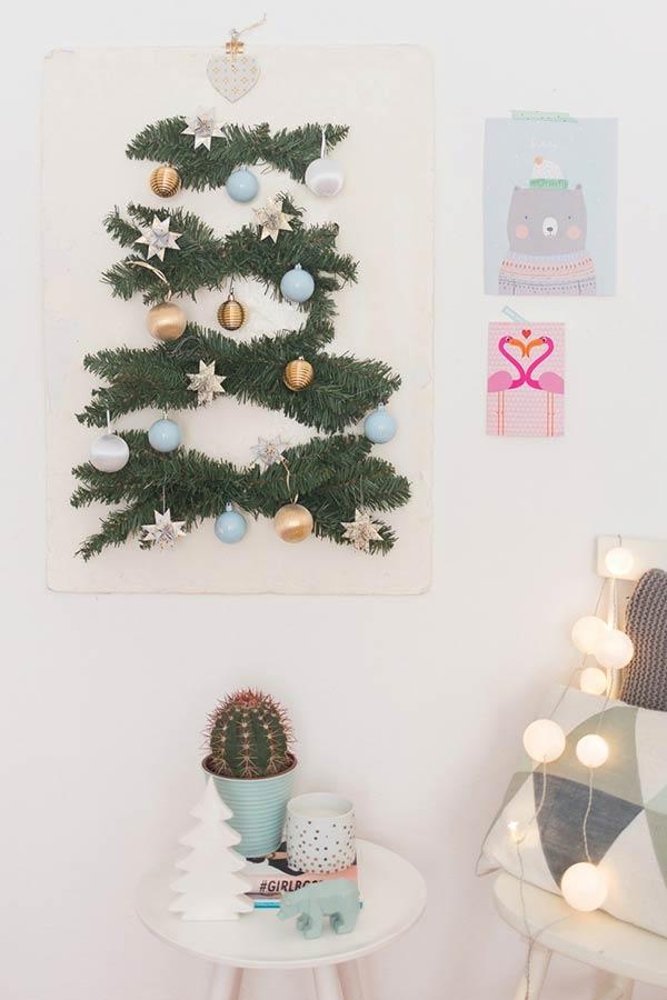 Pôster de tecido árvore de Natal