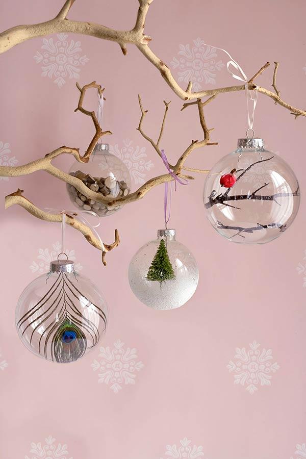 Enfeites de Natal personalizados para árvore