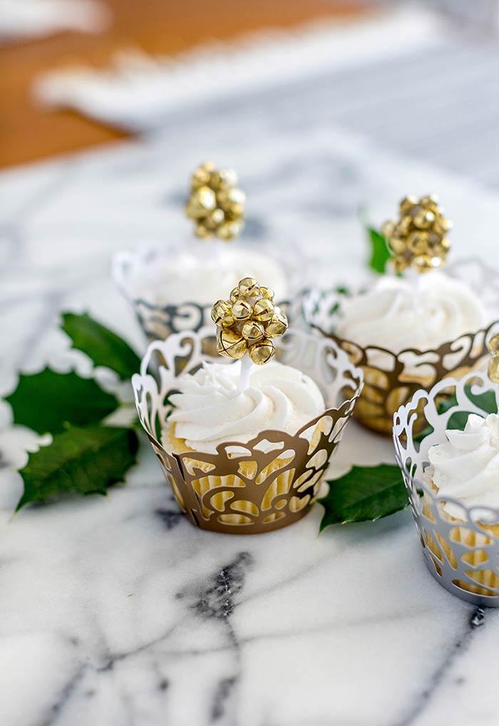 Lindos topos de sininho no cupcake: uma solução prática e artesanal para a decoração