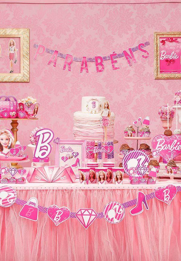 9fa5796e9 Festa da Barbie: 65 Ideias Top de Decoração e Fotos do Tema