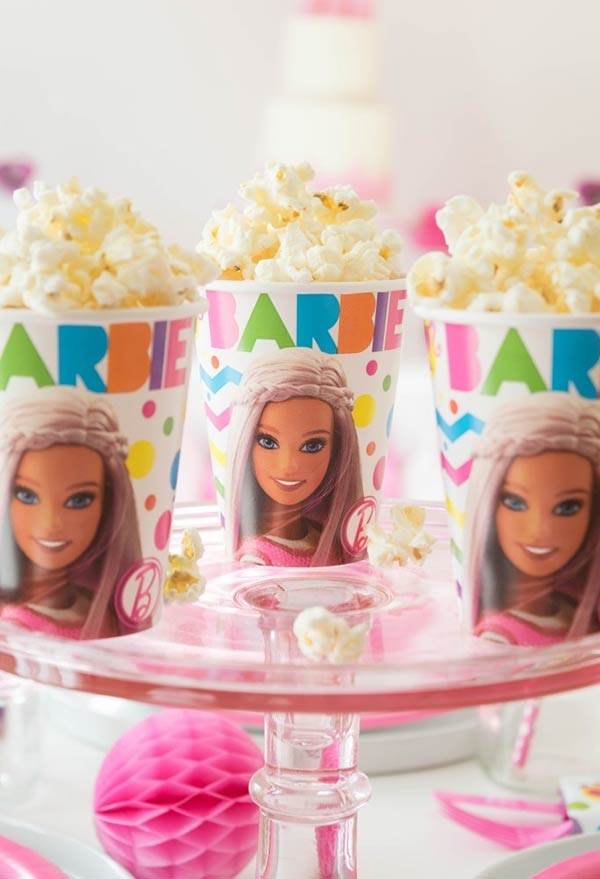 Copo especial da Barbie
