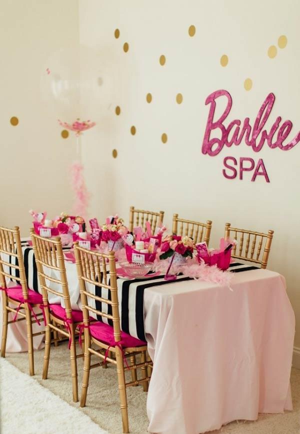 Barbie Spa: detalhes para o cantinho especial