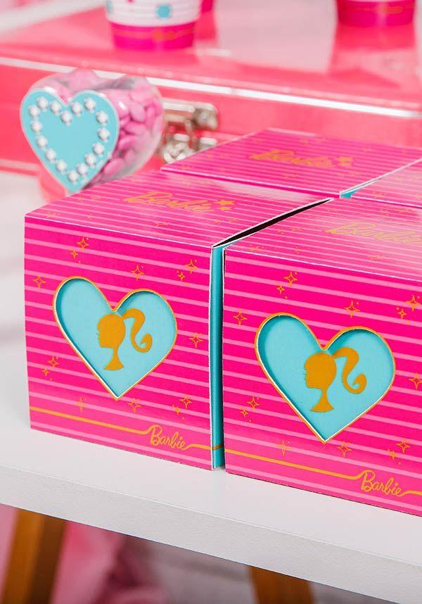 Caixinhas especiais da Barbie
