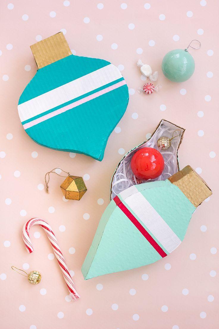 Caixas decorativas feitas com papelão