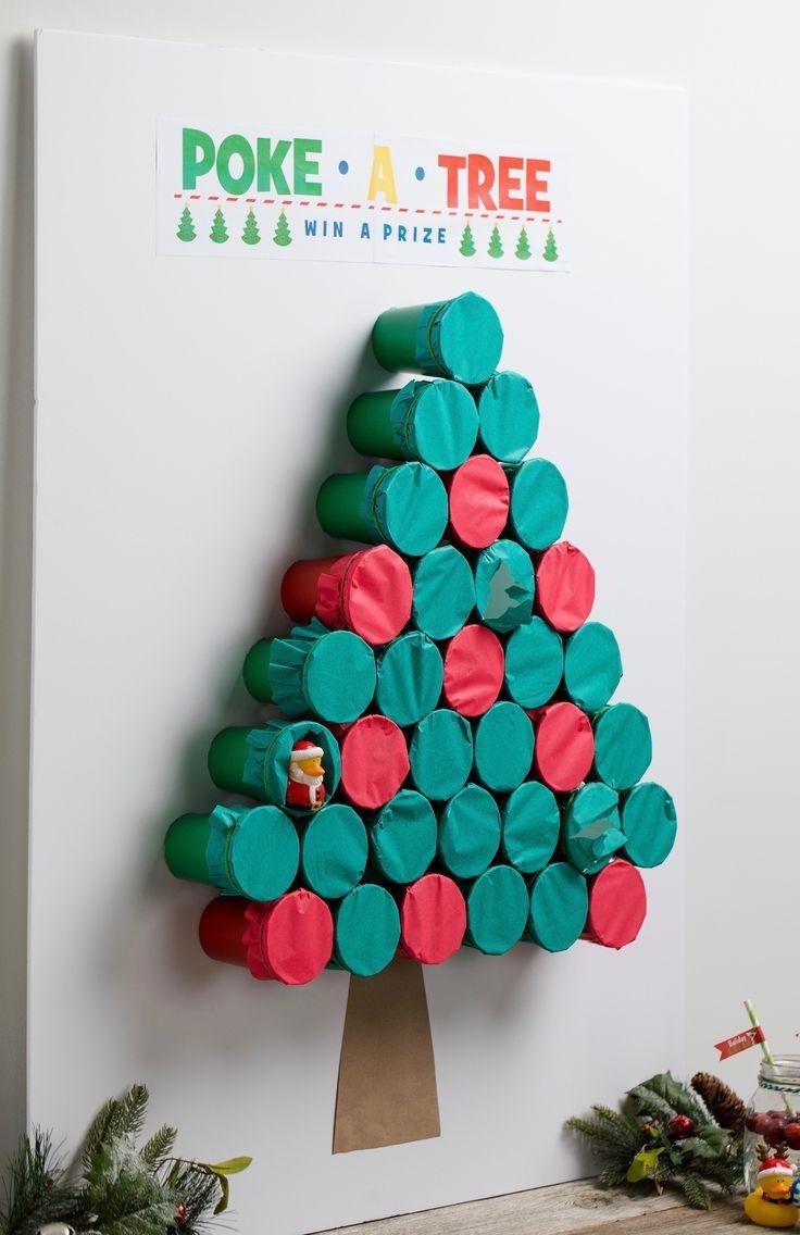 Copos para montar uma árvore de parede