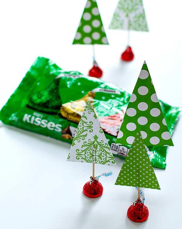 Combine o Natal com o chocolate.