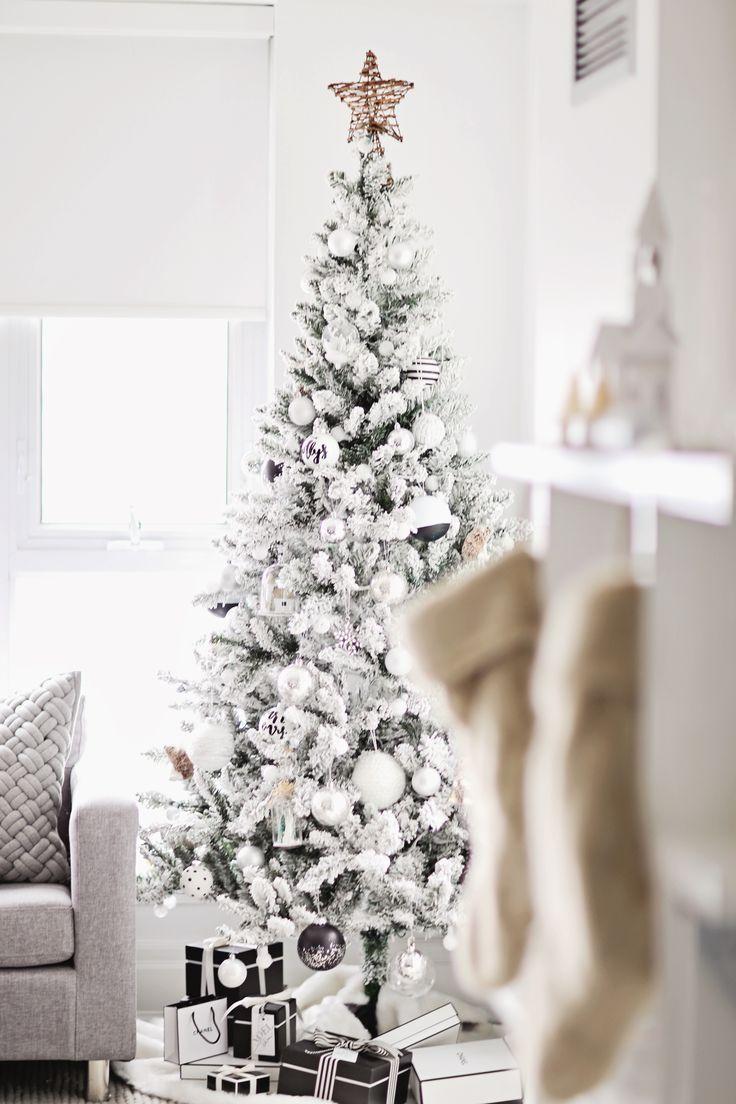 Árvore estilo nevada