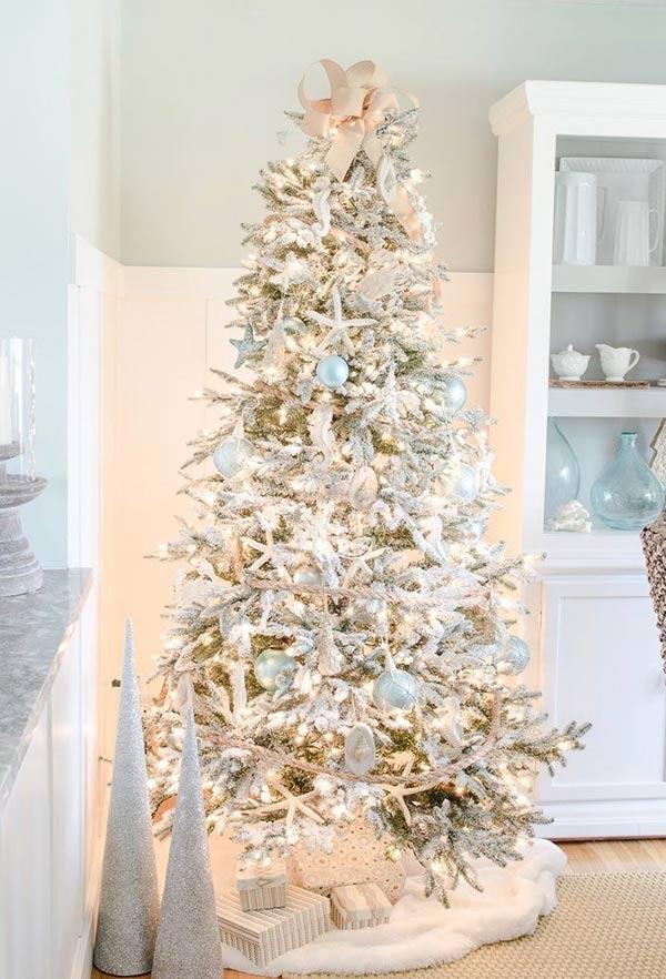 Árvore de Natal para um clima praiano