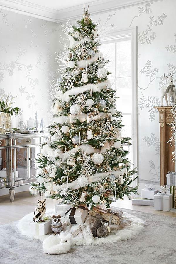 Use uma árvore tradicional para acrescentar o branco.