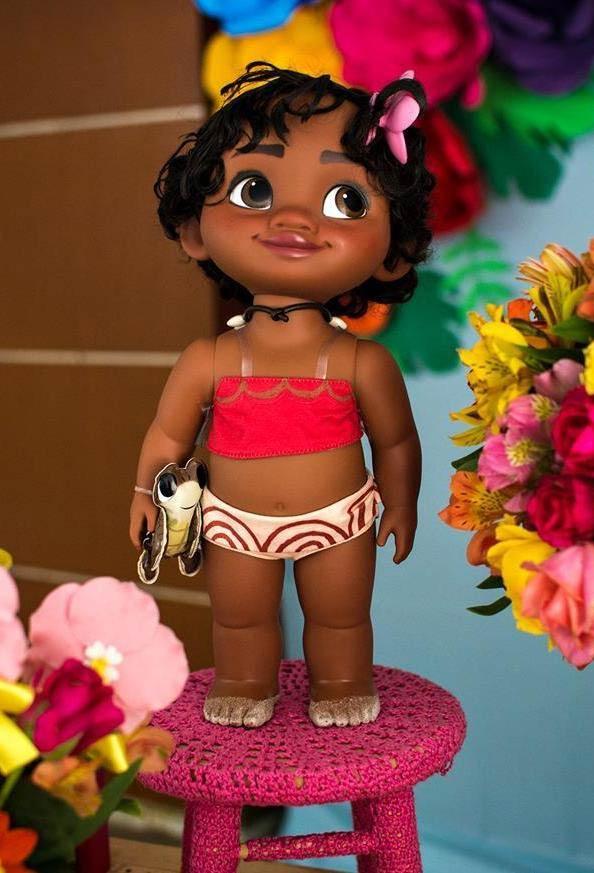 Outro exemplo de boneca Moana