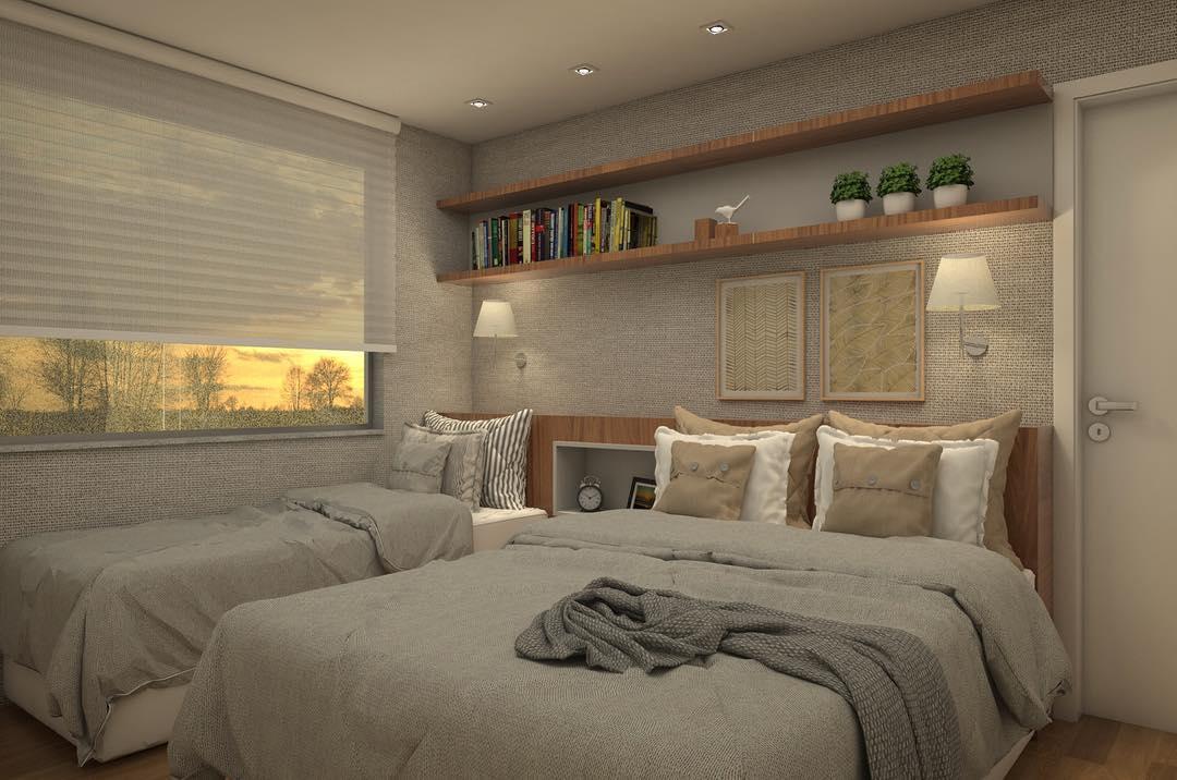 O quarto ideal para abrigar uma família