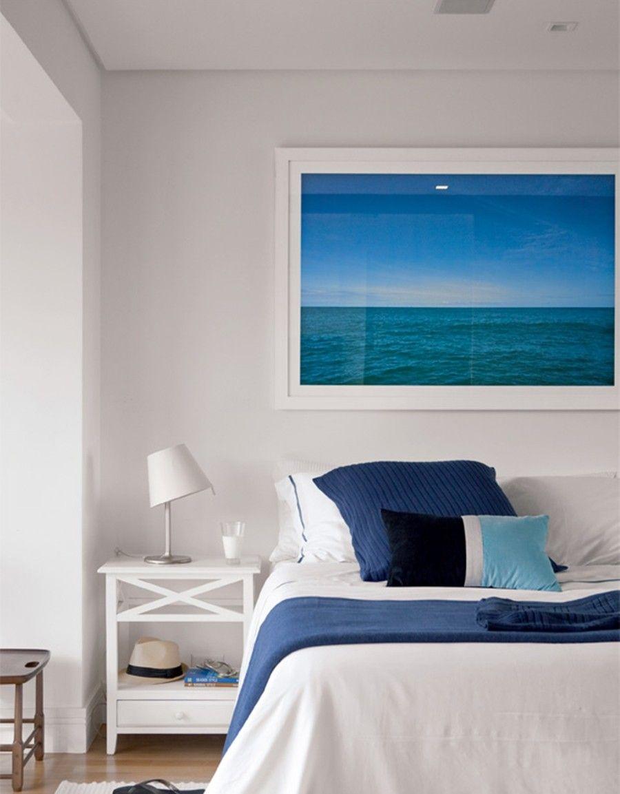 Azul que transmite tranquilidade e paz