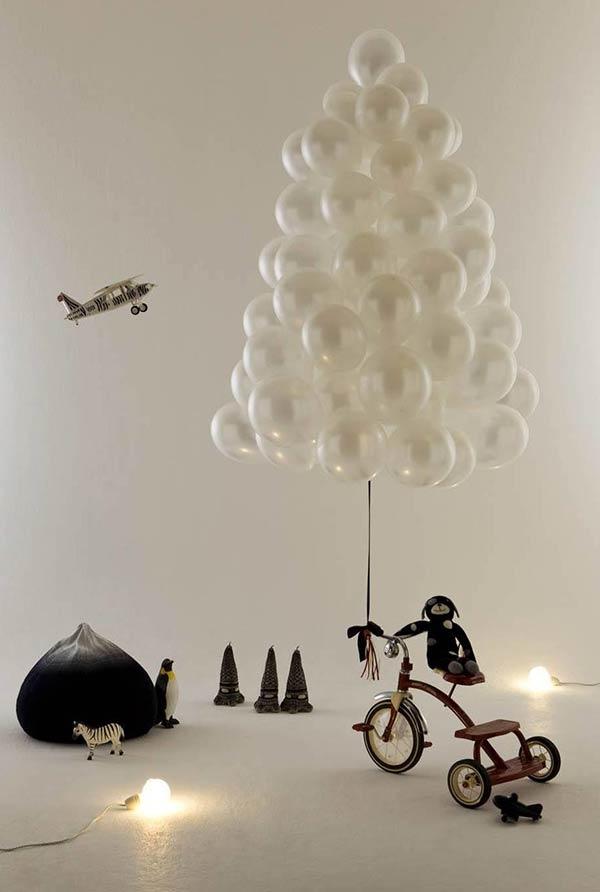 Construção com balões