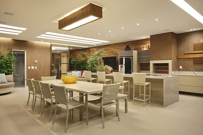 Áreas de lazer para condomínios e espaços cobertos