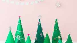 Árvore de Natal artesanal: 65 inspirações e ideias para sua produção