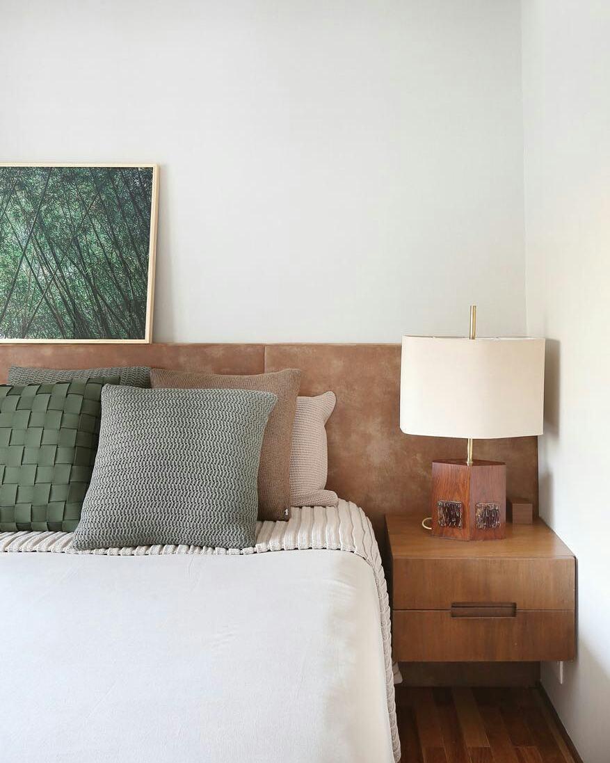 Para um quarto com clima de natureza
