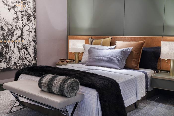 O contraste de cores que traz personalidade ao quarto