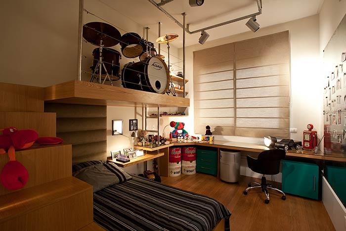 Cabeceira para quarto de solteiro