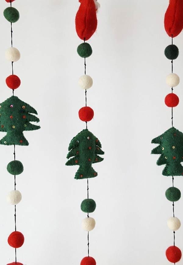 Enfeites De Natal Em Feltro 60 Ideias Com Moldes E Como Fazer